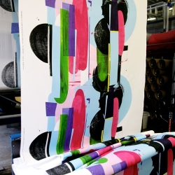 The art of print making. A look at how Marimekko prints are made.