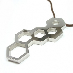 A pendant that doubles as a hex wrench for 8, 10, 12 and 14mm bolts.
