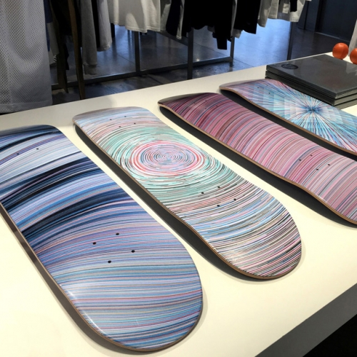 Beautiful graphics by artists Kai & Sunny and Element Skateboards