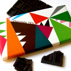 Sissi Edholm and Lisa Ullenius from Edholm Uilenius created this amazingly beautiful chocolate packaging for the gift shop in Museum of Modern Art in Stockholm.