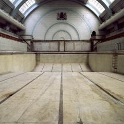 Beautiful shots  of London's abandoned swimming pools.