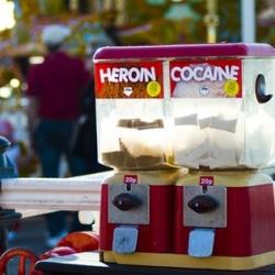 Drug Automat / Imbue Street Installation