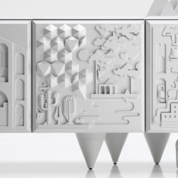 Incredible Cabinet Design from Antoine+Manuel for BD Barcelona...