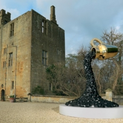 Sotheby's first ever outdoor selling exhibition at Sudeley Castle, Gloucestershire is up and running. The exhibition, in association with Carpenters Workshop Gallery, presents 25 unique/limited-edition works of contemporary art.