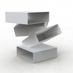 The girls from Swedish design studio Front are fast becoming great interpreters of the Porro style, combining the Italian company's trademark sleek/luxe with their own quirky chic. Like this piece: Balancing Boxes.