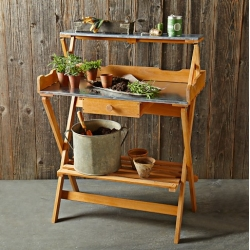 Williams-Sonoma Folding Potting Table