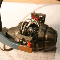 Someone made an MP3 Player from an actual grenade. And here's how you can do it yourself!