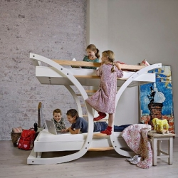 There are a lot of alternative varieties and designs of beds for your kids. Mimondo focuses on new and innovative thoughts concerning design, production and use of materials.