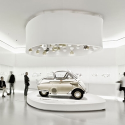 The new BMW Museum, adjacent to the Group's headquarters in Munich, provides a unique brand experience.