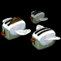 UNEASYsilence is proud to announce the release of ToasterClone - the classic flying toasters screensaver raised from the ashes, recompiled, and redistributed for your own personal use.