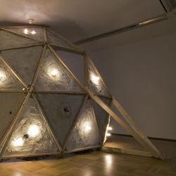 Christine Tarkowski. geodesic domes.
