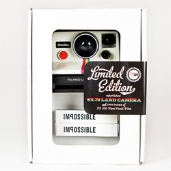 Vintage Polaroid SX-70 OneStep Land Camera - A Photojojo Exclusive with the Impossible Project [Pull the DO NOT PULL!!!]