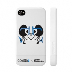 Great limited edition collaboration iPhone4 Slider Case available Sept 10th in celebration of Fashion's Night Out 2010. Bringing together Incase, colette and Darcel Disappoints.