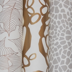 Joy Deangdeelert Cho of Oh Joy! has designed a beautiful new collection of wallpaper for Hygge & West.
