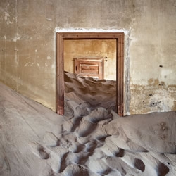 Part art-installation, part post-apocalyptic, Spanish photographer Alvaro Sanchez-Montañes has elegantly captured the ghost towns and disused properties that have been, over time, ravaged by the unforgiving Namib desert.....