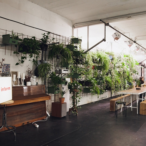 INFARM! In a hidden courtyard in Berlin-Kreuzberg, you'll find the latest indoor farming technology. Nice interview at Ignant.