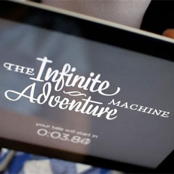 David Benqué's Infinite Adventure Machine, a proposal for a computer program which generates fairy-tale plots..