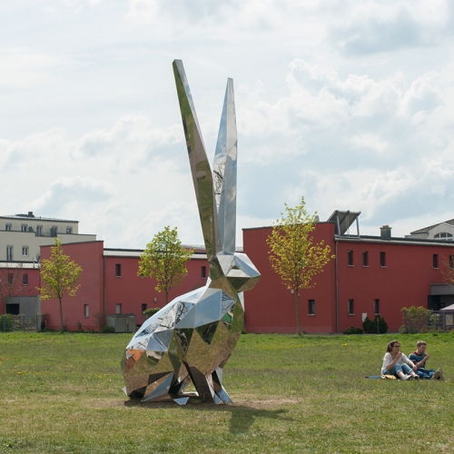 Amazing sculptures and artworks in public space by German artistic collective Inges Idee (Hans Hemmert, Axel Lieber, Thomas A. Schmidt and Georg Zey).