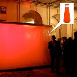 The Jellymongers: Bompas & Parr invited us to inhale Campari gas at the Tutti a Tavola opening!