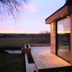 Great garden studios from UK based in.it.studios are eco-friendly designer garden buildings.
