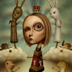 Who needs drugs when you can have the wonderfully bizarre art of Naoto Hattori?
