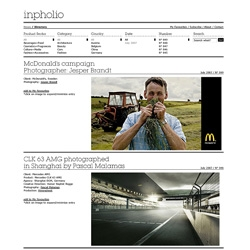 The inpholio news section is now online, keep up to date with who's who and the latest news within the photography industry.