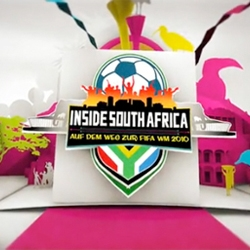 Opener for the 2010 FIFA world cup in South Africa, AXN TV. The animation was created by Dirk Rauscher.