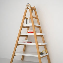 The Merduban shelving system by Lab Istanbul.