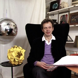 Video interview with Tom Dixon about his Comet Lights for Veuve Clicquot!