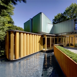 Stunning Toronto home of Dr. James Stewart, designed by Brigitte Shim and Howard Sutcliffe of Shim Sutcliffe.