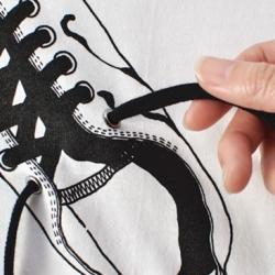 Japanese designer Noto-Fusai explores the alternative possibilities of t-shirt design.