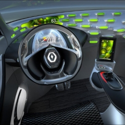 "An interview with Marc Pinel, Head of Design Studio Components and HMI (Human Machine Interface) at french manufacturer Renault (above: ""Frendzy"" concept car, 2011)."