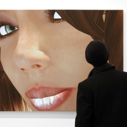 Second Life's sexiest avatars captured in their most sensuous moments and used as art by Italian duo Eva & Franco Mattes.