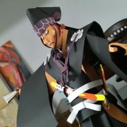 Brooklyn based artist Mu Pan and his Origamu.