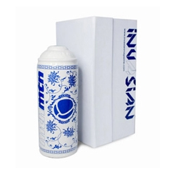 A porcelain spray can by Invasian & Montana Colors