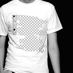 The closest thing to invisibility. This is what would happen if you use the Photoshop eraser tool on yourself! Invisible t-shirt by Reece Ward