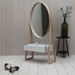 Iona Cheval Mirror by Pinch Design.