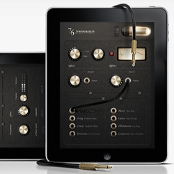 Beautiful iPad guitar amp App. Interaction Design by Jonas Eriksson, a Designer from Sweden.