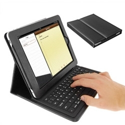 KeyCase iPad Folio with integrated bluetooth keyboard.