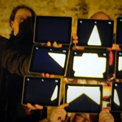 Clever Christmas video made using a bunch of iPads from the team at Torchbox