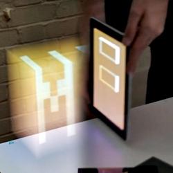 'Making Future Magic: iPad light painting' making -of video by Dentsu London and Berg London.