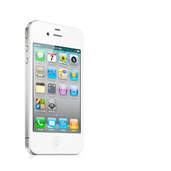 The iPhone 4 will be available in white tomorrow.