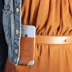 The iPhone 6 Holster, designed to be super low profile so you won't even know it's there, no more fishing around in your purse or pocket when you want to access your phone. Bonus: Your new iPhone 6 won't bend in your pocket.