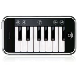 iAno - This piece of software turns your iPhone into a fully-functional multi-touch piano.