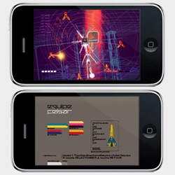 Rez or Wip3out on your iPod anyone? Some designer games with great visuals that would be great on iPod.