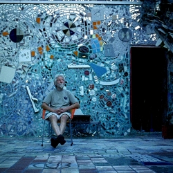 Isaiah Zagar has covered more than 50,000 square feet of Philadelphia with stunning mosaic murals. In A Dream documents his work and his relationship with his wife as it implodes. You are a lucky duck if it is playing near you.