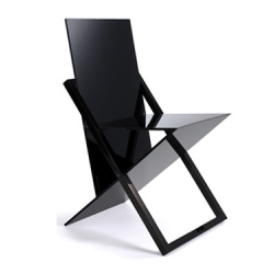A cool and incredibly thin fold able chair - Gebruder Thonet Vienna launched the ISIS Chair by Jake Phipps at the Milan Salone