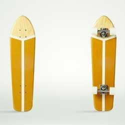 Atypical is a young Milanese company that started making skateboards – to ride the forward face of urban waves – in 2012.