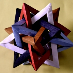 A weird site but with some unbelievable photos of origami. Marvelous