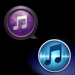 "Wired's ""Redesign Apple's Ugly iTunes Icon"" contest results."